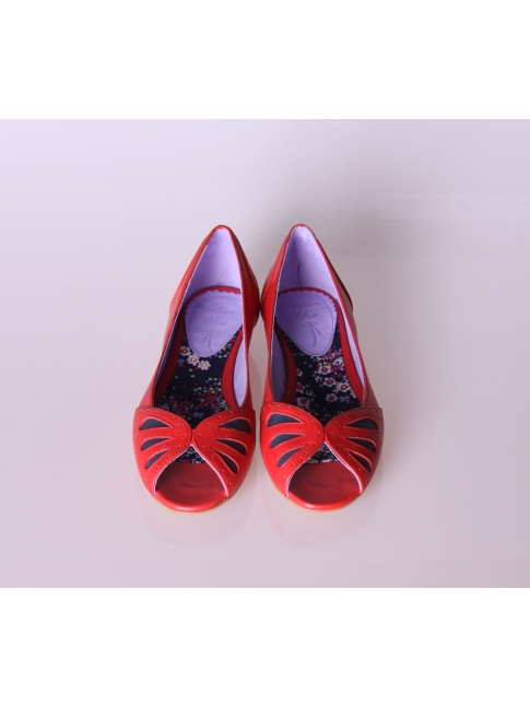 Zapato plano cuña