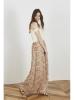 Printed Chiffon Skirt