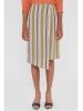 Falda rayas colores pastel