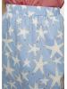 Falda midi estrellas de mar