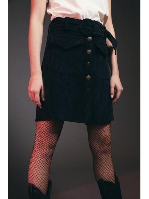 Falda Nora negra