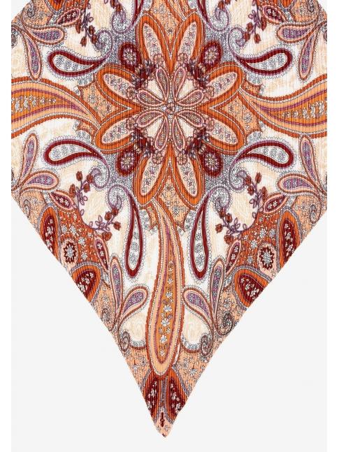 Pañuelo bandana plisado pasley
